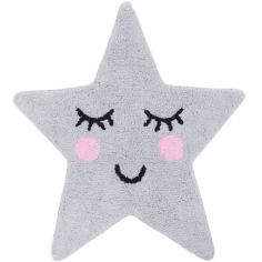 Tapis Sweet Dreams grey star (70 x 67 cm)