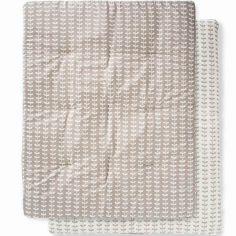 Tapis de parc Feuille grise (77 x 97 cm)
