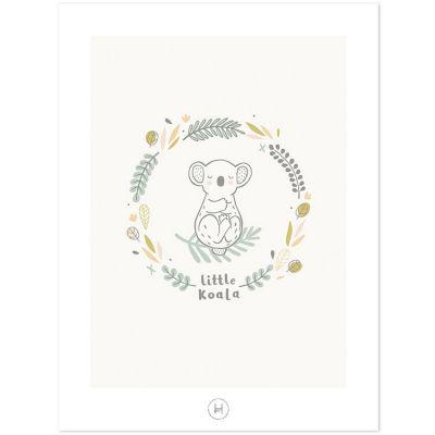 Affiche koala (30 x 40 cm)  par Lilipinso