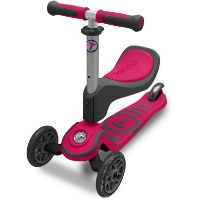 Porteur évolutif Scooter T1 rose