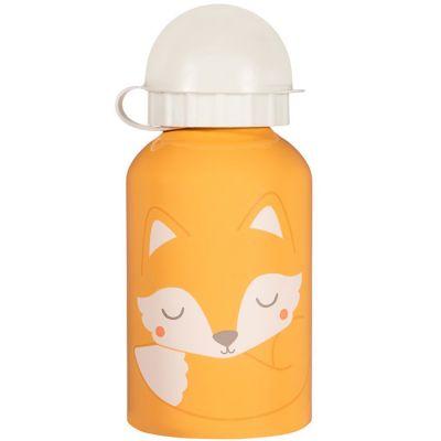 Gourde embout sport renard Woodland Fox (300 ml)  par sass & belle