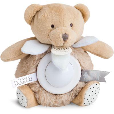 Veilleuse peluche ours luminescent UNICEF (15 cm)  par Doudou et Compagnie
