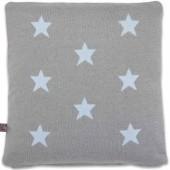 Coussin Star bleu et gris (40 x 40 cm) - Baby's Only