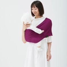 Porte bébé Easy Sling Wacotto magenta (taille L)