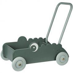 Chariot de marche Croco le crocodile vert