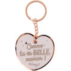 Porte-clés Comme tu es belle, maman !
