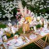 Lot de 6 sets de table à colorier Lapin Hello Spring  par Arty Fêtes Factory
