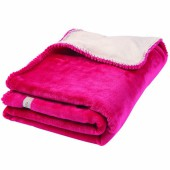Couverture groloudoux Mix et Match fuchsia (100 x 140 cm) - Noukie's