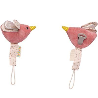 Attache sucette colibri Lilou et Perlin  par Galipette