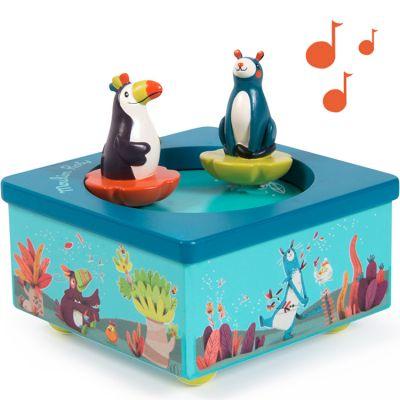 Boîte à musique magnétique Dans la Jungle  par Moulin Roty