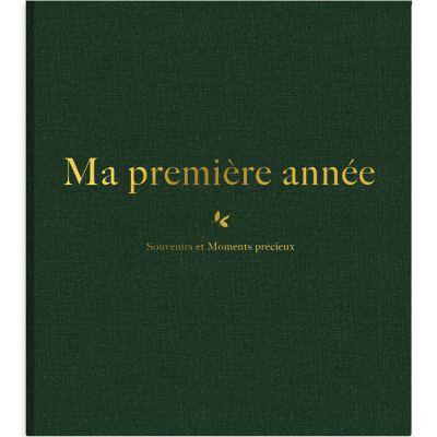 Album de naissance Ma première année Luxe ABC  par Milestone