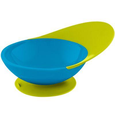 Bol ventouse Catch bowl bleu et vert (19,5 cm)  par Boon
