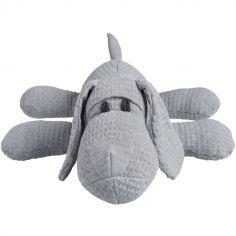 Peluche chien gris (40 cm)