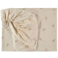 Drap housse Tibet Haiku birds (90 x 200 cm)