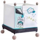 Lampe cube à poser Lazare - Sauthon Baby Déco