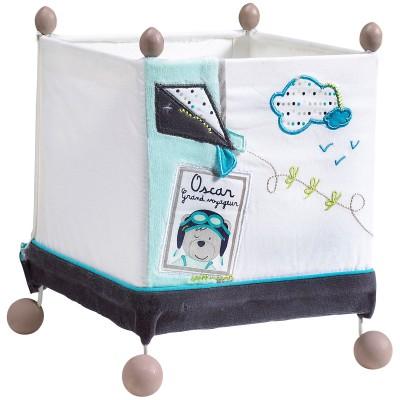 Lampe cube à poser Lazare  par Sauthon Baby Déco