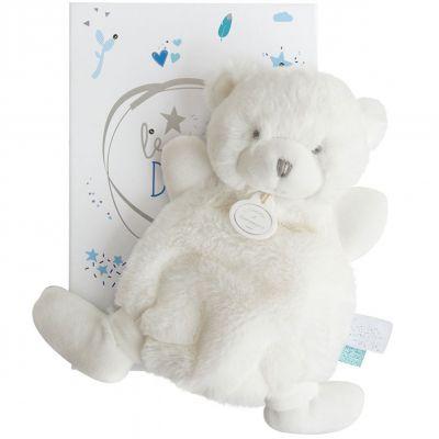 Doudou plat ours bleu Le Doudou (19 cm) Doudou et Compagnie