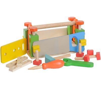 Boîte à outils en bois  par EverEarth