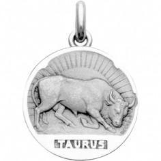 Médaille signe Taureau (argent 925°)