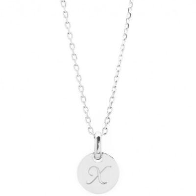 Collier enfant mini charm médaille (argent 925°)
