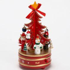 Carrousel musical Sapin de Noël