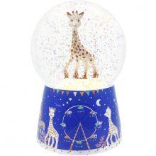 Boule à neige musicale Sophie la girafe  par Trousselier