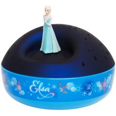 Veilleuse projecteur d'étoiles musical Elsa La Reine des Neiges