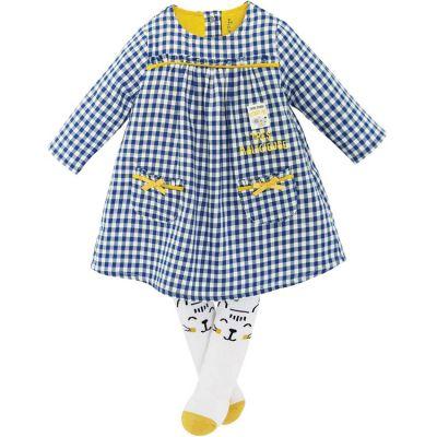 Ensemble 2 pièces avec robe Vichy (18 mois) Sucre d'orge