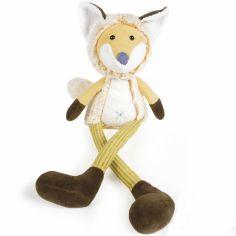 Grande peluche renard jaune (43 cm)