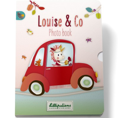 Livre photos Louise la licorne  par Lilliputiens