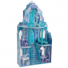 Maison de poupée château de La Reine des Neiges