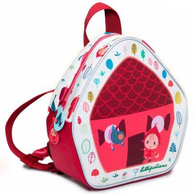 Mini sac à dos Petit Chaperon Rouge (22 x 20 cm)  par Lilliputiens