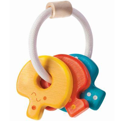 Hochet en bois clés Plan Toys