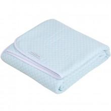 couverture de lit pure soft sweet mint 110 x 140 cm par little dutch. Black Bedroom Furniture Sets. Home Design Ideas