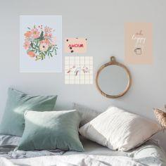 Lot de 4 petites affiches Amour (10 x 15 à 40 x 30 cm)