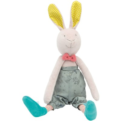 Peluche lapin Mademoiselle et Ribambelle Moulin Roty