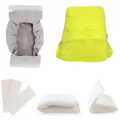 Kit couche TMAC en microfibre Green Banana 5 pièces (Taille S)