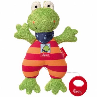 Peluche musicale grenouille Folunder Frog (27 cm) Sigikid