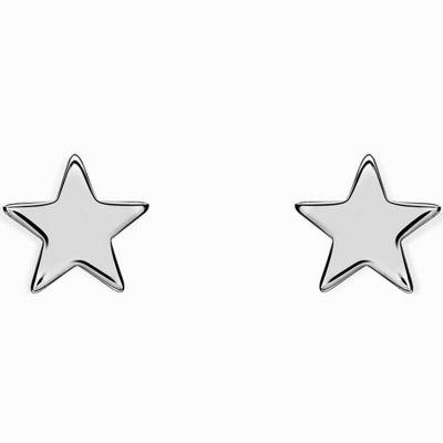 Boucles d'oreilles Full étoile (argent 925°)  par Coquine
