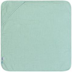 Cape de bain en mousseline vert menthe (0-2 ans)