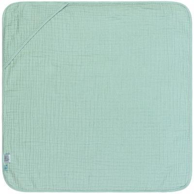 Cape de bain en mousseline vert menthe (0-2 ans) Lässig