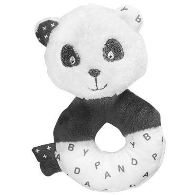 Hochet peluche panda Chao Chao  par Sauthon