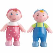 Figurines de jeu Bébés Marie et Max Little Friends - Haba
