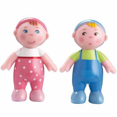 Figurines de jeu Bébés Marie et Max Little Friends  par Haba