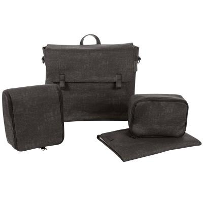 sac langer bandouli re nomad black b b confort. Black Bedroom Furniture Sets. Home Design Ideas