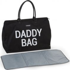Sac à langer à anses papa Daddy Bag noir