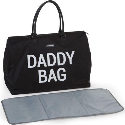 Sac à langer à anses papa Daddy Bag noir  par Childhome