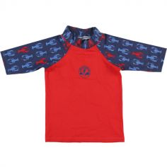 Tee-shirt anti-UV Bord de mer boy (18-24 mois)
