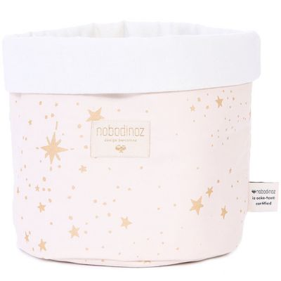 Panier de toilette Panda Gold stella Dream pink (20 x 24 cm)