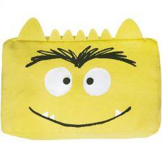 Trousse scolaire Monstre joyeux jaune
